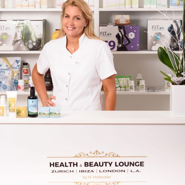 Nicola Hollender Founder and CEO Health & Beauty Lounge Franchise