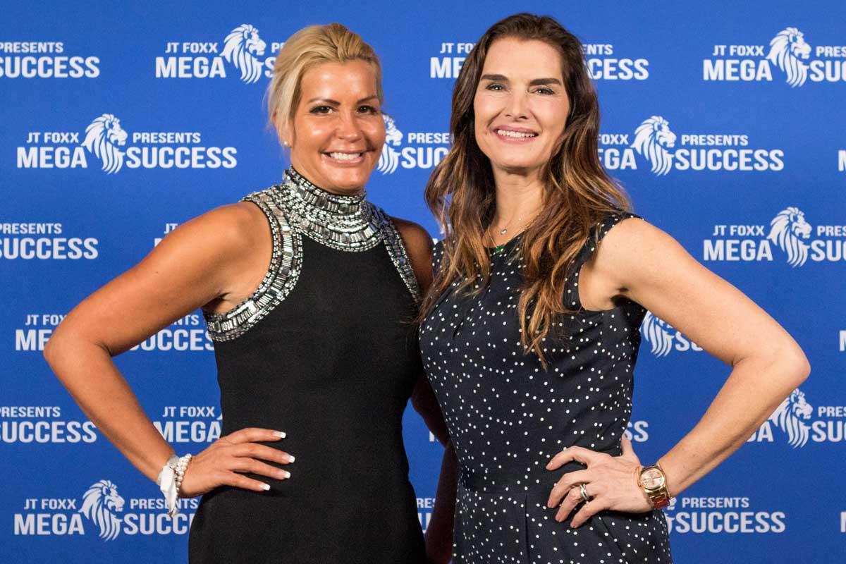 Nikki Hollender mit Brooke Shields